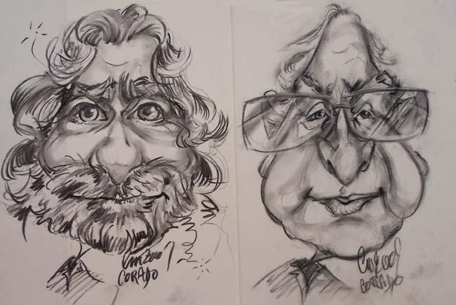 Deux Caricatures