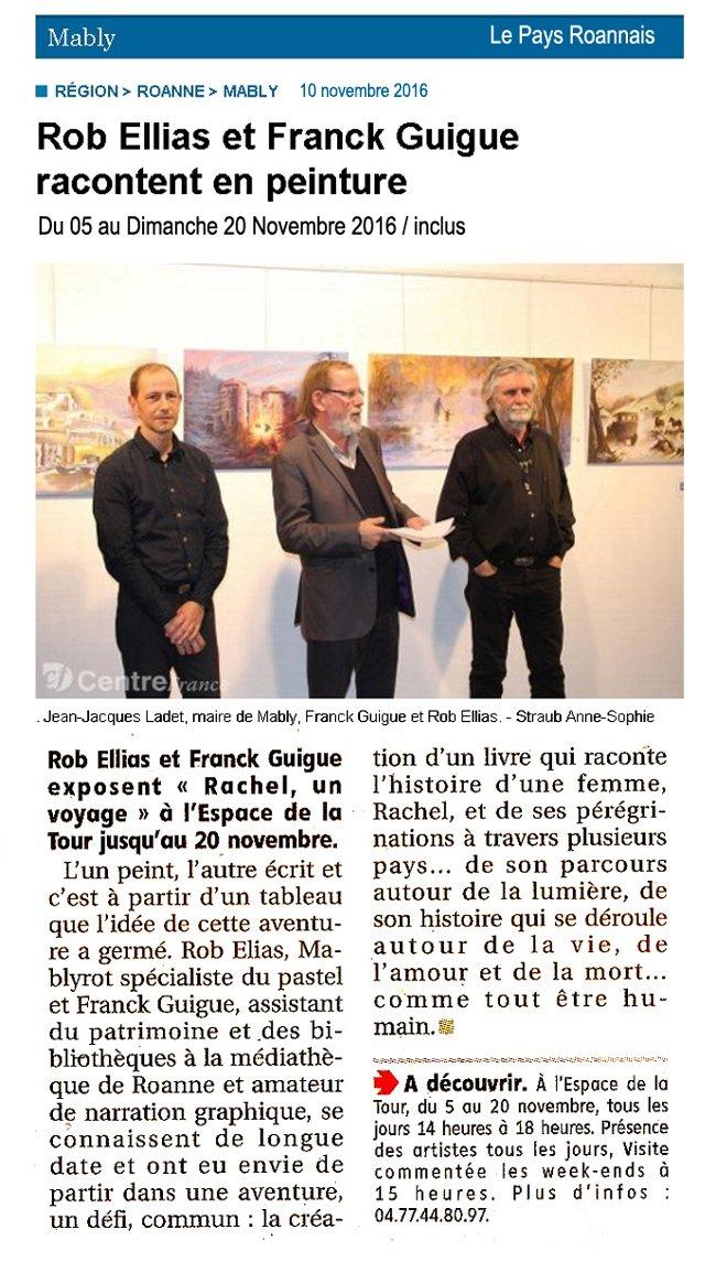 expo Le pays Roannais 10 nov 2016