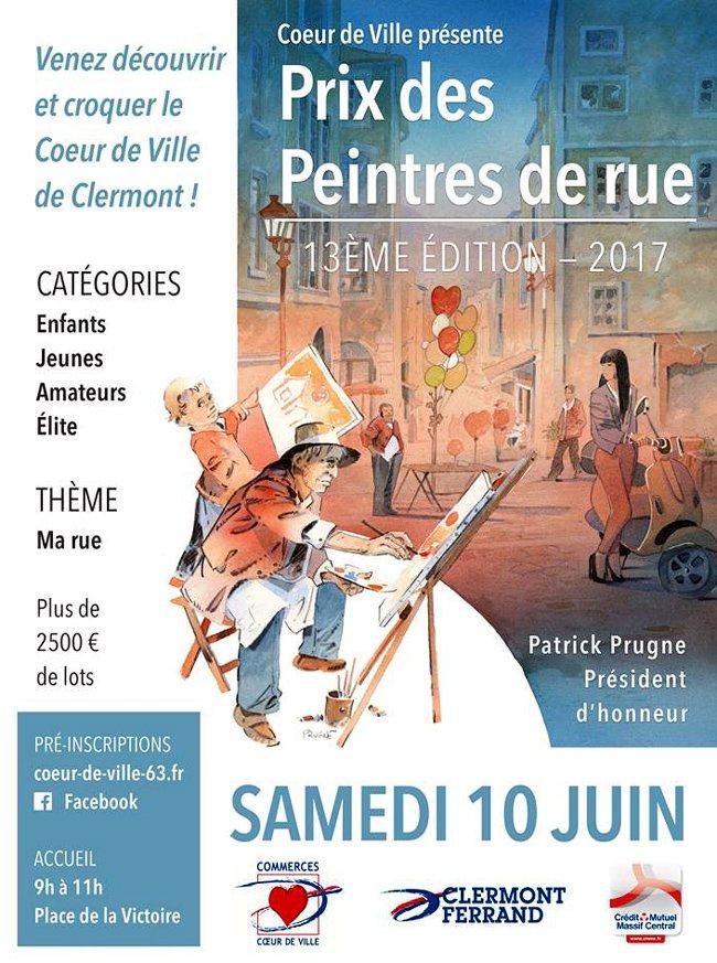 Patrick Prugne Président d'honneur du prochain Prix des peintres de rue