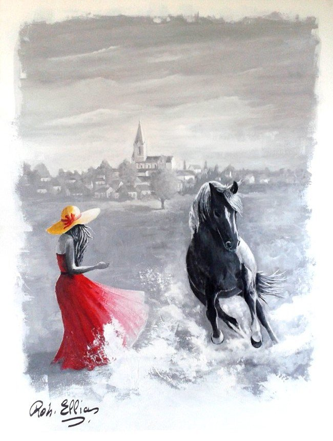 Toile exposée à Mably 2019