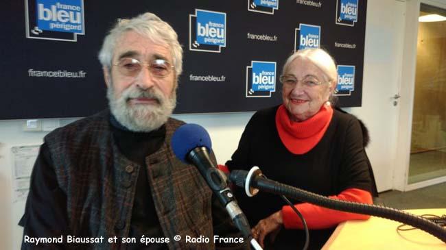 Raymond Biaussat et son épouse © Radio France