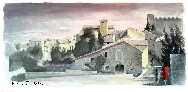 roquetaillade chez Gérard Weill