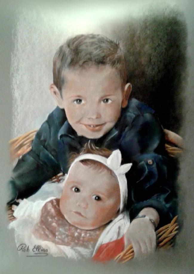 Novembre 2019 pour Jean-Philippe ses petits enfants